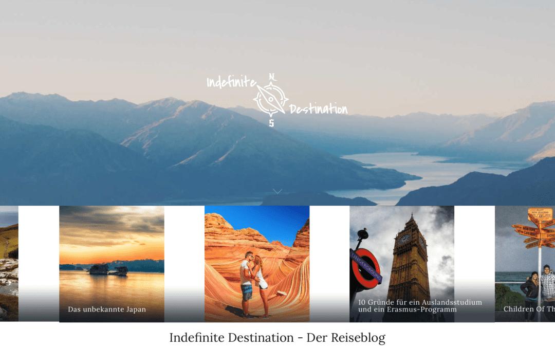 """Gastbeitrag auf """"Indefinite Destination""""."""