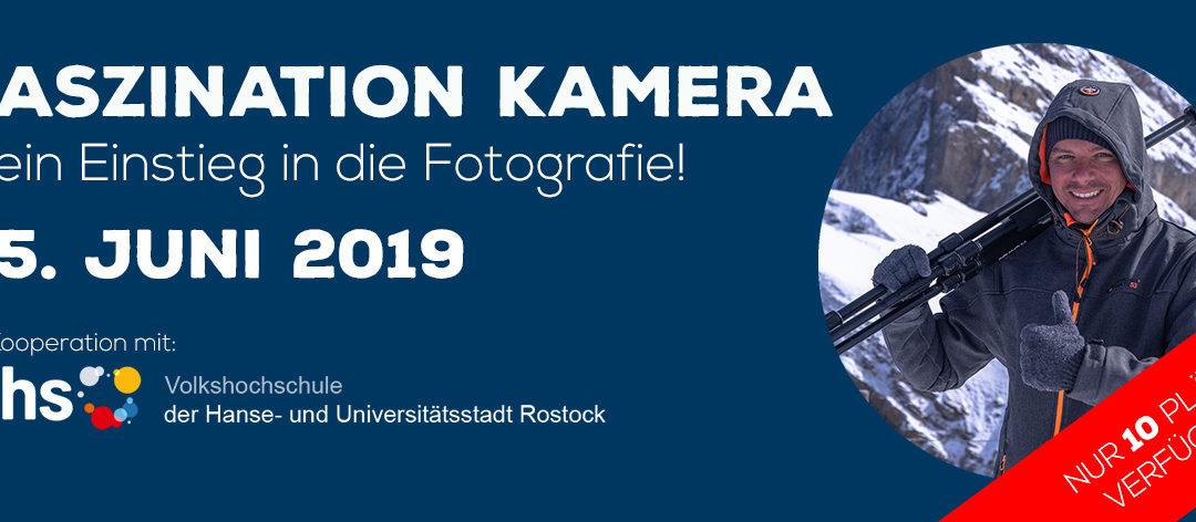 Workshop am 15. Juni in Kooperation mit der VHS Rostock!